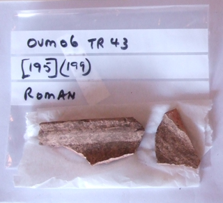 Click to enlarge image of fragments of Roman Pottery