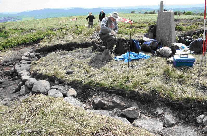 Shaw Cairn Excavations