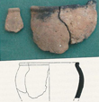 Click to enlarge matching sherds of Iron Age Pottery